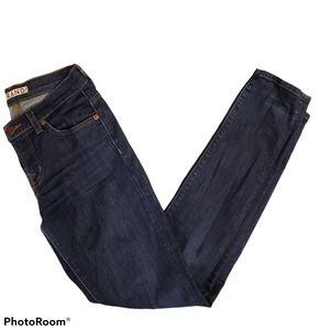 J Brand women's dark wash mid rise skinny leg w26